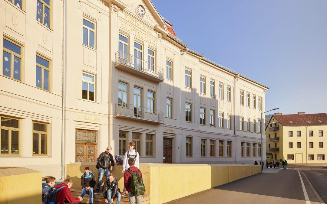 Drei Schulen unter einem Dach – das Bildungszentrum Pestalozzi