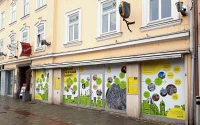 Schaufenstergestaltung in Leoben